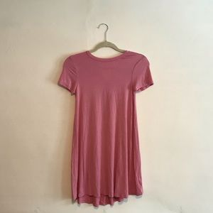 Forever21 pink casual dress girls XL